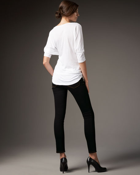 910 Super Skinny Jeans, Black