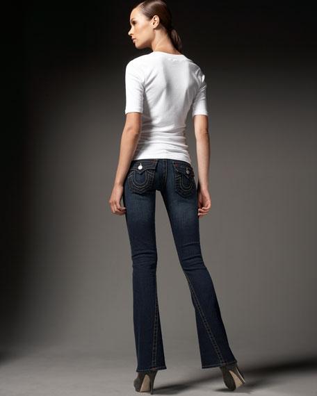 Joey Dark Pony Express Flare Jeans