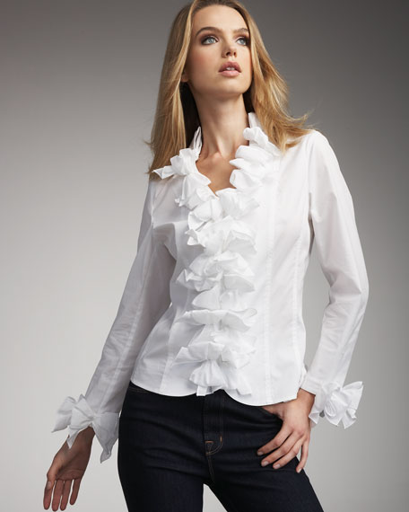 Bow Blouse, Women's