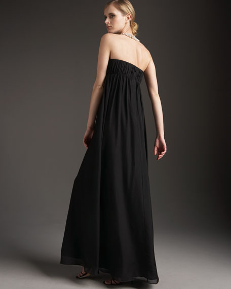 Pearl Necklace Gown