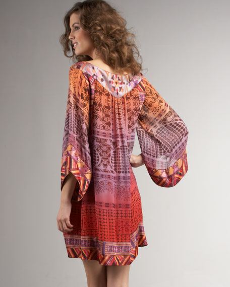 Contrast-Band Tunic