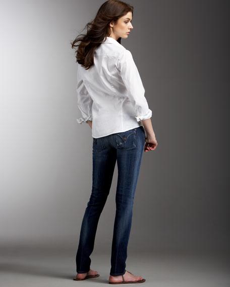 Michelle Destroyed Skinny-Leg Jeans