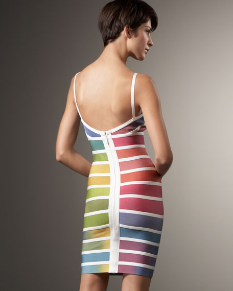 Rainbow Ombre Dress
