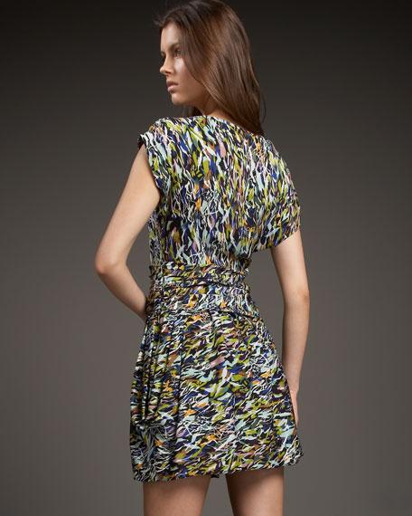 Fraley Printed Georgette Dress