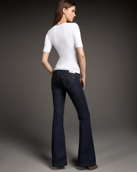 Claire Body Rinse Trouser Jeans