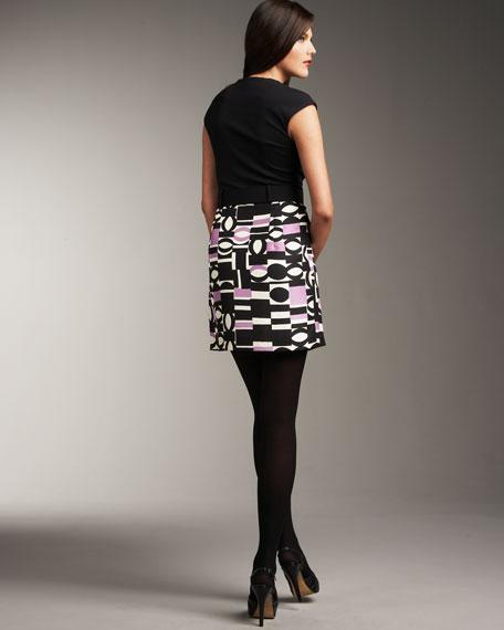 Modern Combo Dress