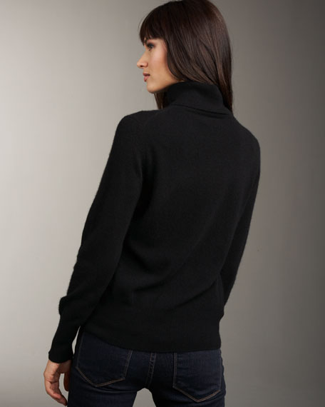 Cashmere Turtleneck Sweater, Women's