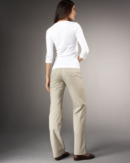 Juliana Straight-Leg Pants