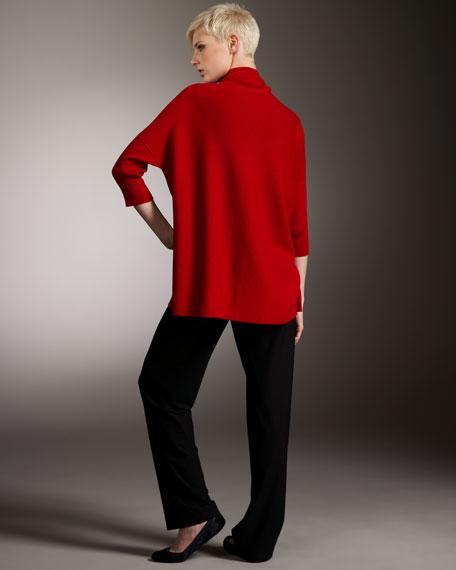 Oversize Cowl-Neck Sweater, Women's