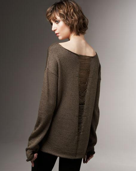 Belinda Shredded Sweater