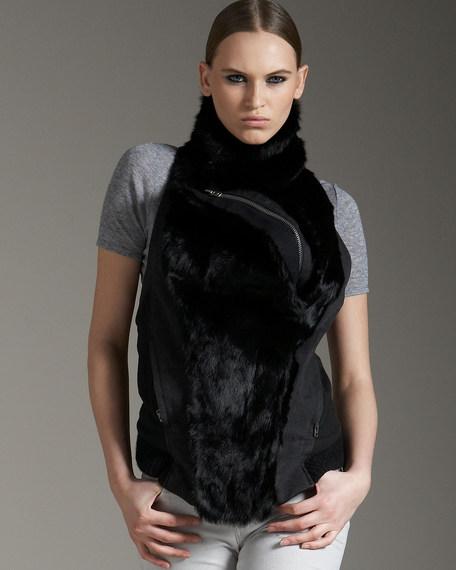 Fur Combo Vest