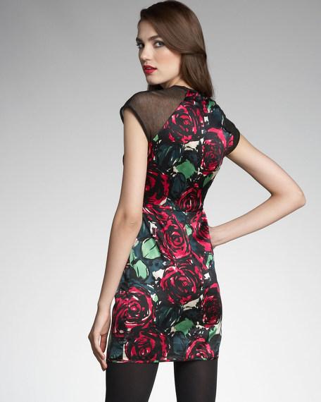 Daring Rose Dress
