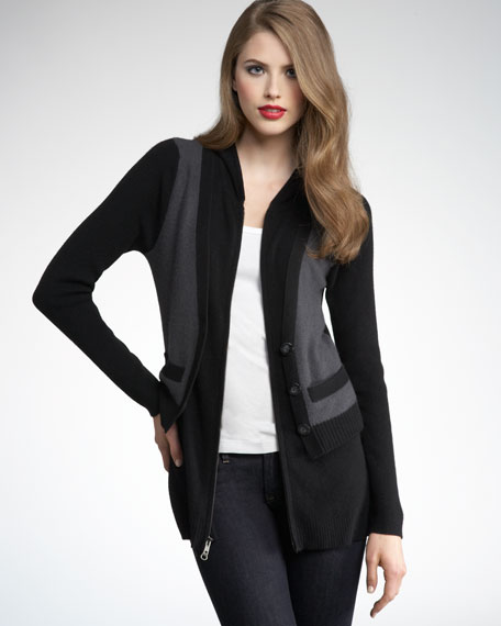 Cashmere Zip Jacket
