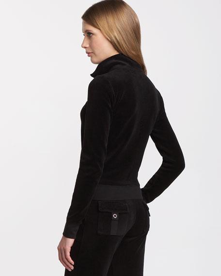 Basic Velour Track Jacket