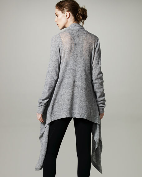 Merino Extended-Front Sweater