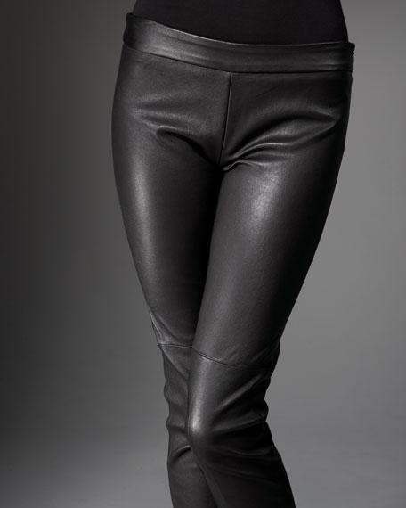 Tarina Leather Leggings