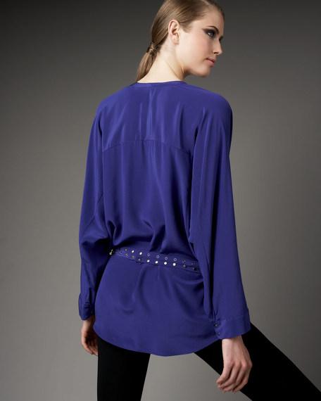 Yates Kimono-Sleeve Tunic