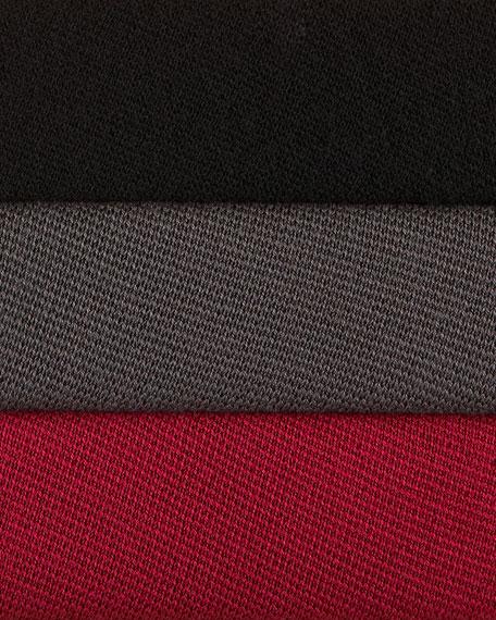 Silk Cotton Interlock Long Tie-Waist Jacket