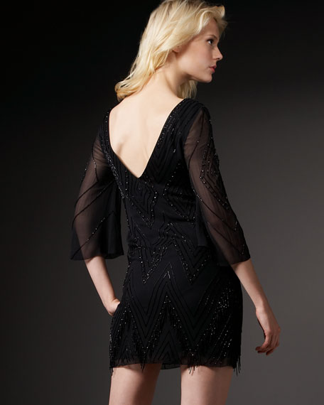 Claire Beaded Dress