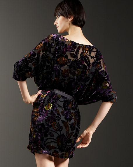 Ophelia Velvet Dress