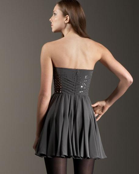 Sparkle Sweetheart Dress