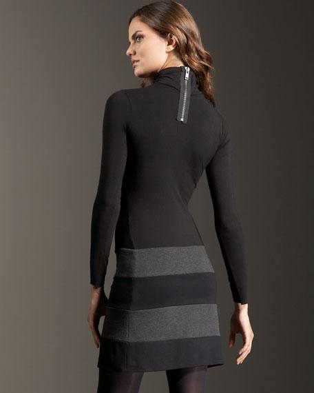 Diana Rigg Turtleneck Dress