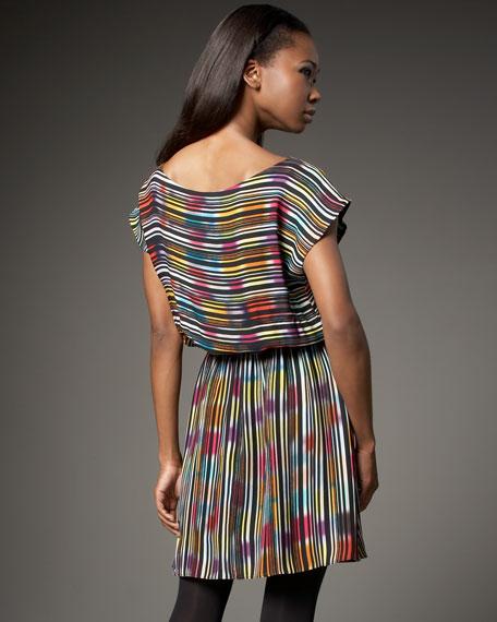 Striped Easy Dolman Dress