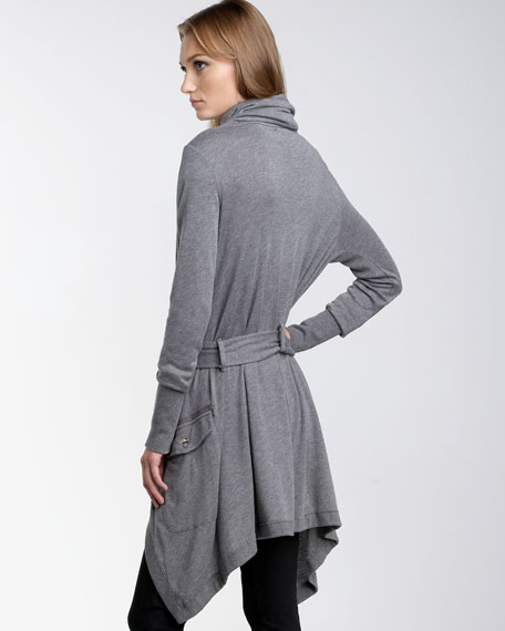 French Terry Wrap Jacket