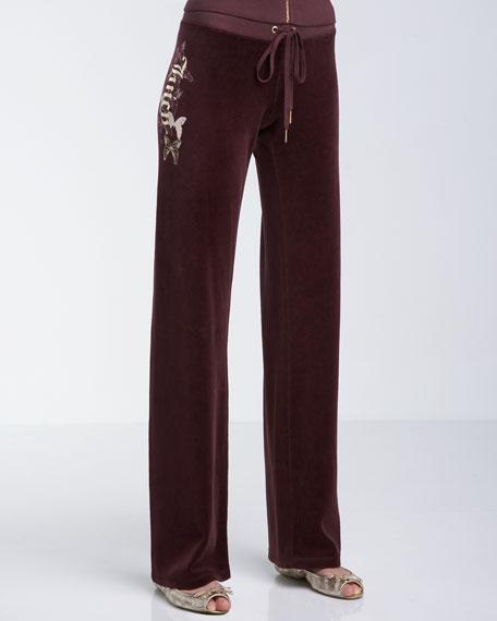 Gilded Sugar Velour Pants