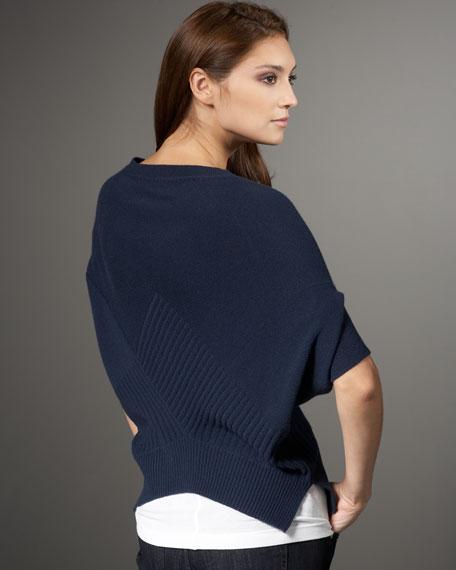 Checkerboard Sweater, Blue
