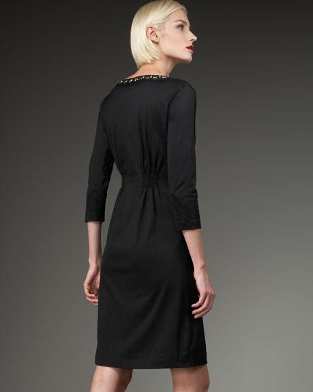 Beaded Knit Dress, Women's
