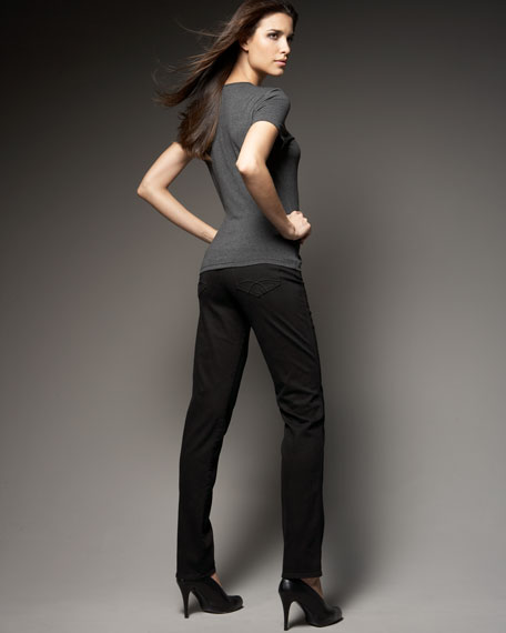 Jaclyn Stretch Cigarette Pants