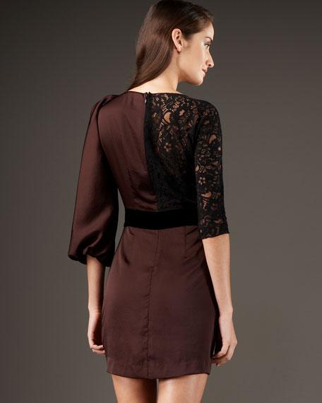 Multimedia Lace Dress