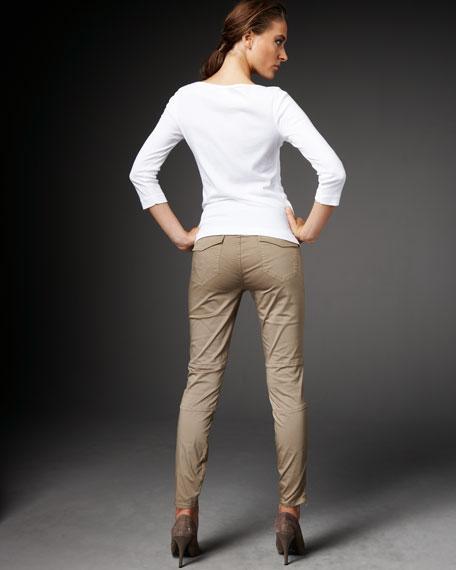 Agnes Zipper Cargo Pants
