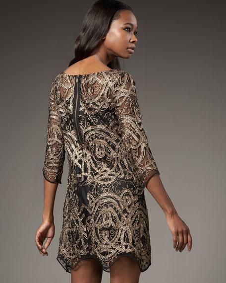 Lace Maze Dress