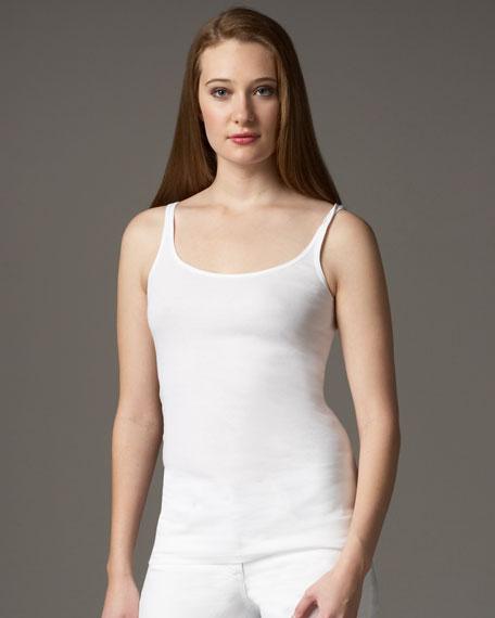 Organic Ribbed Camisole, Petite