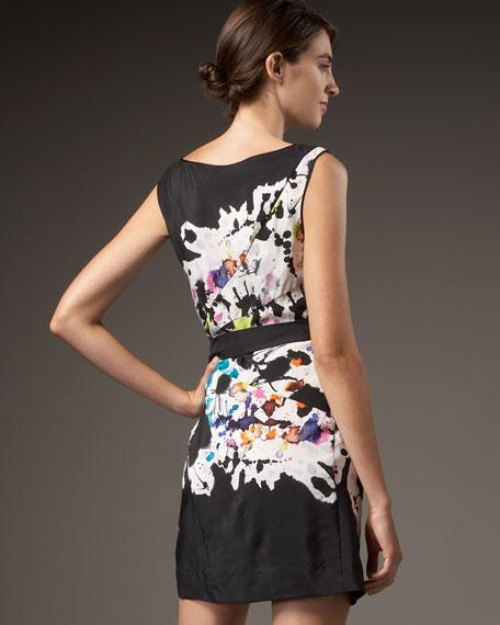 Tetle Abstract-Print Dress