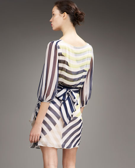 Ignacia Striped Dress