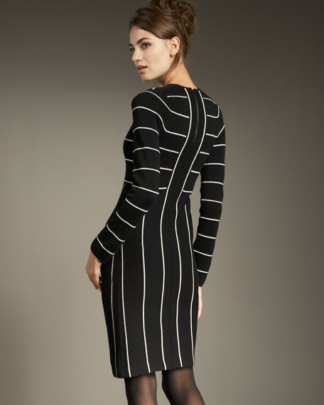 Liana Striped Dress