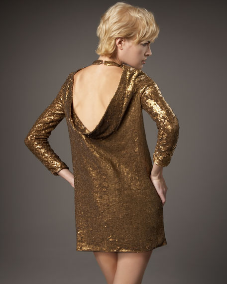 Nicole Sequin Dress
