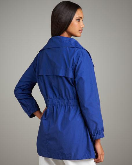 High-Collar Rain Jacket