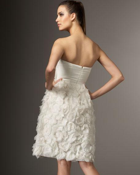Rosette Cocktail Dress