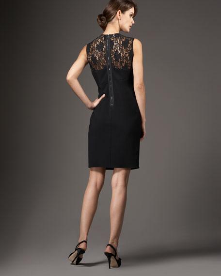 Lace Illusion Top Dress