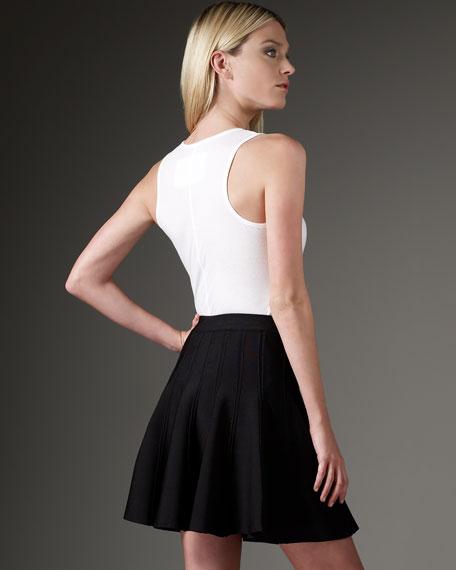 Tubular Knit Skirt