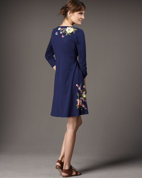 Ruth Embroidered Dress