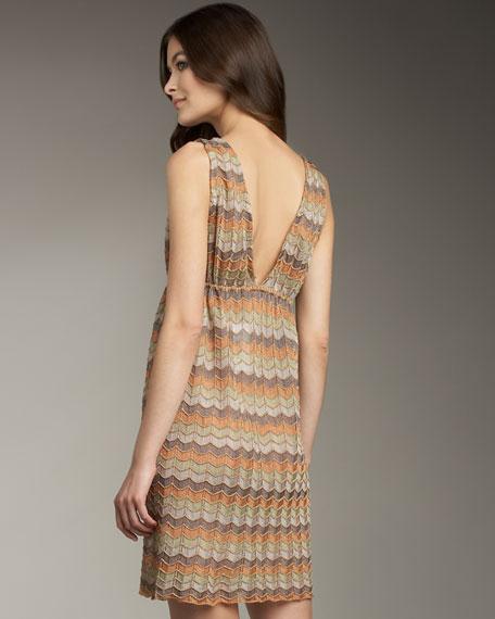 Metallic Wave Dress