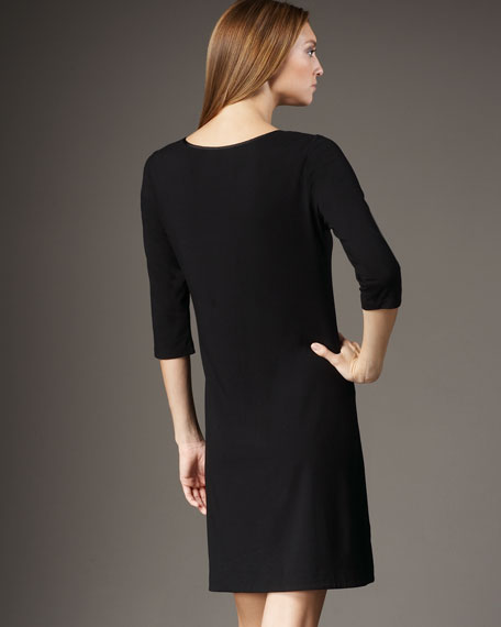 Ruffle-Front Dress, Women's
