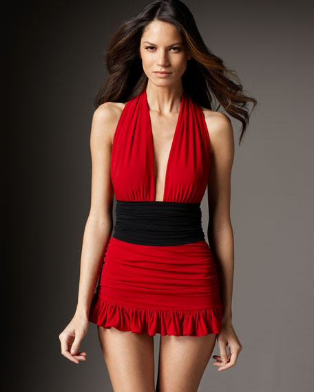 Robin Ruffled Swimdress
