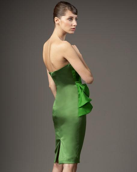 Ruffled Peplum Dress