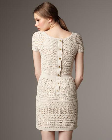 Lined Crochet Dress